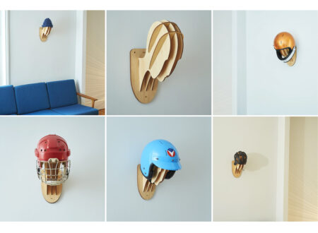 Veldt Trophy Helmet Holder Wall Mount