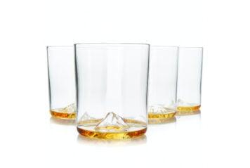 Whiskey Peaks Glasses