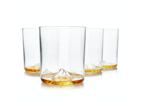 Whiskey Peaks Glasses