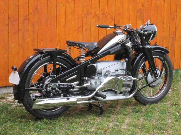 Zundapp K800 Rear