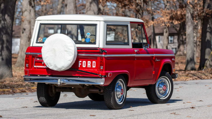 1969 Ford Bronco 13