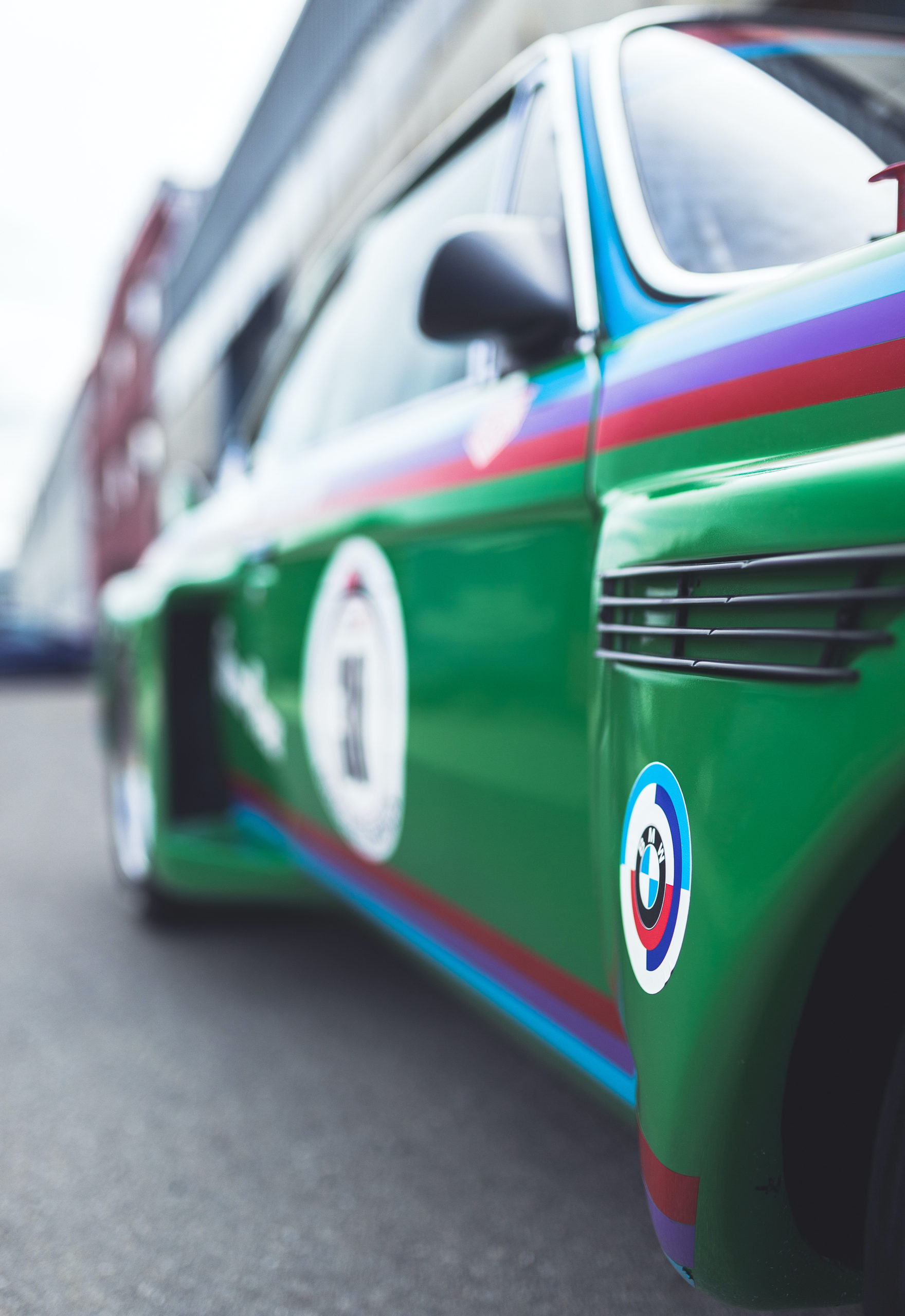 This BMW CSL Was An 800HP Experimental Race Car Driven By Ronnie Peterson
