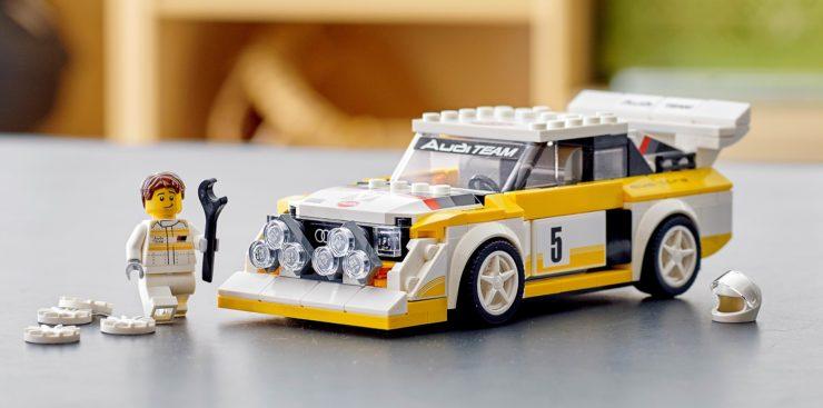 1985 Audi Sport quattro S1 Lego 1