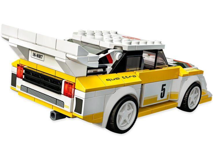 1985 Audi Sport quattro S1 Lego Back