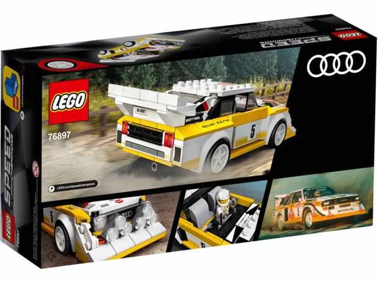 1985 Audi Sport quattro S1 Lego Box