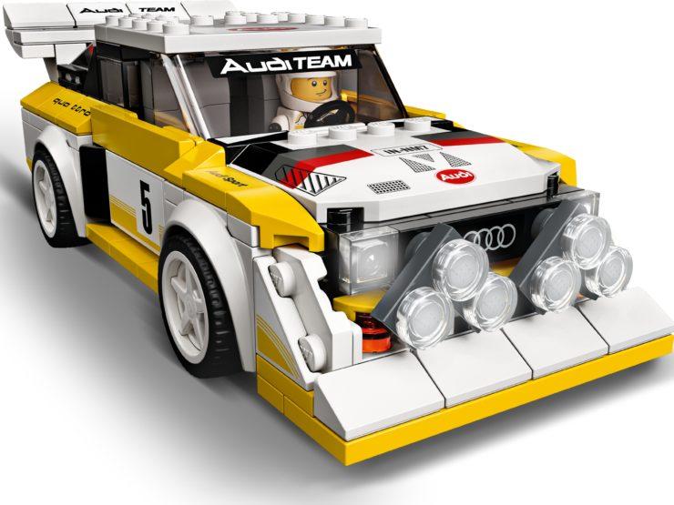 1985 Audi Sport quattro S1 Lego Front