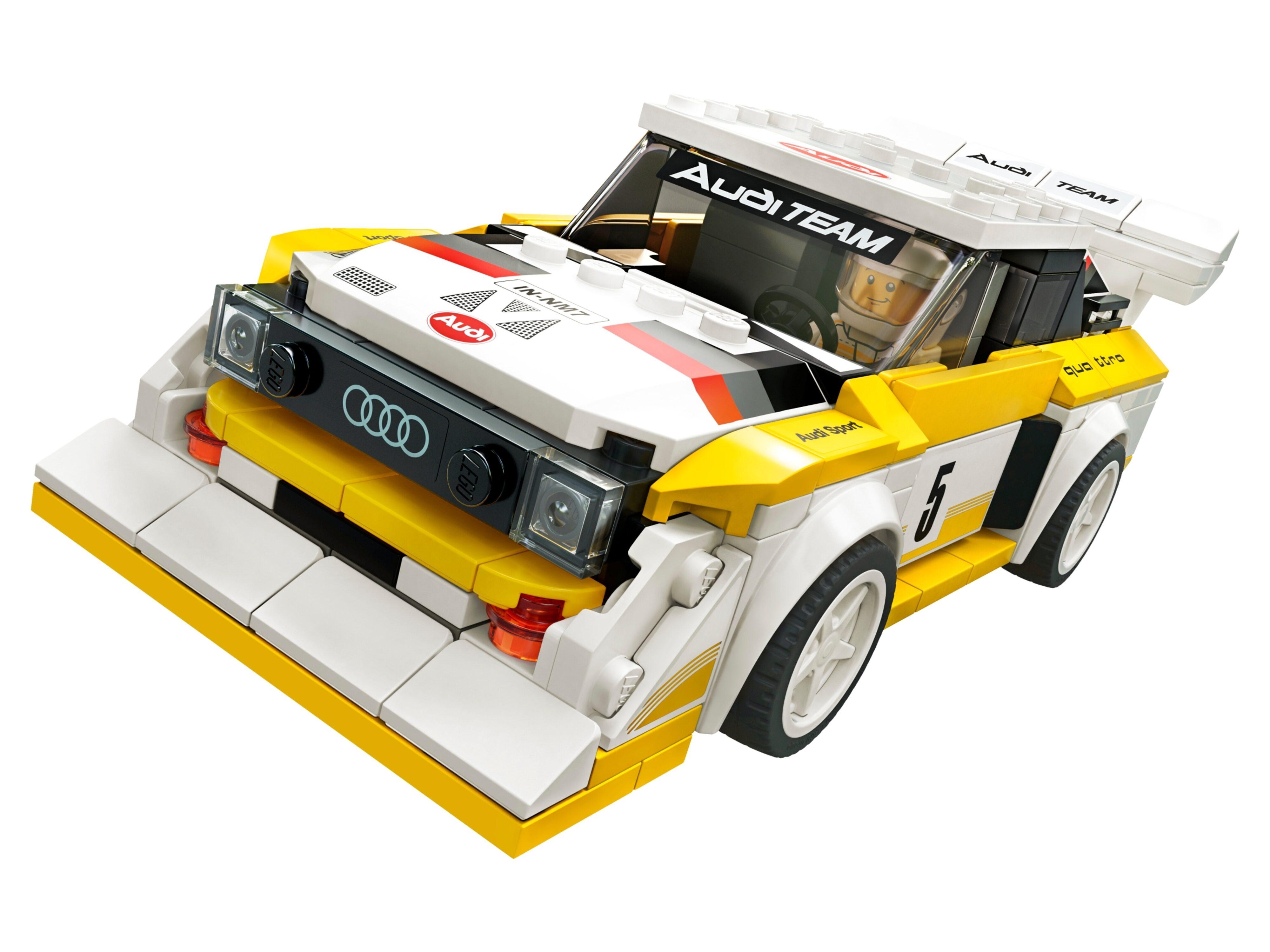 1985 Audi Sport quattro S1 Lego