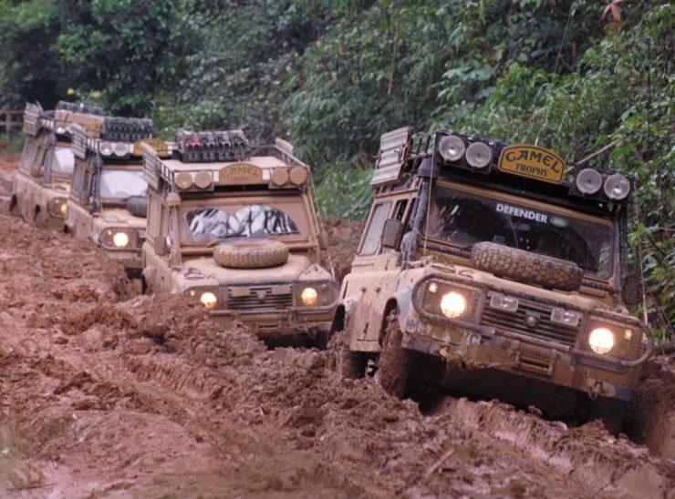 1989 Camel Trophy Amazon Mud