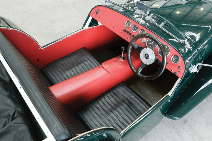 Lotus Seven Series Two cockpit