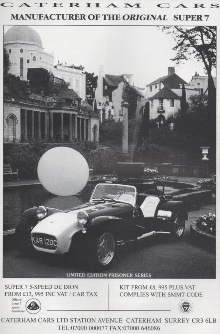 Lotus Seven Caterham Cars