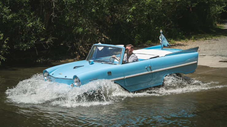 Amphicar amphibious car