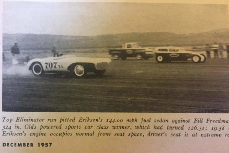 Bill Freedman's Olds Powered Bangert Manta Ray