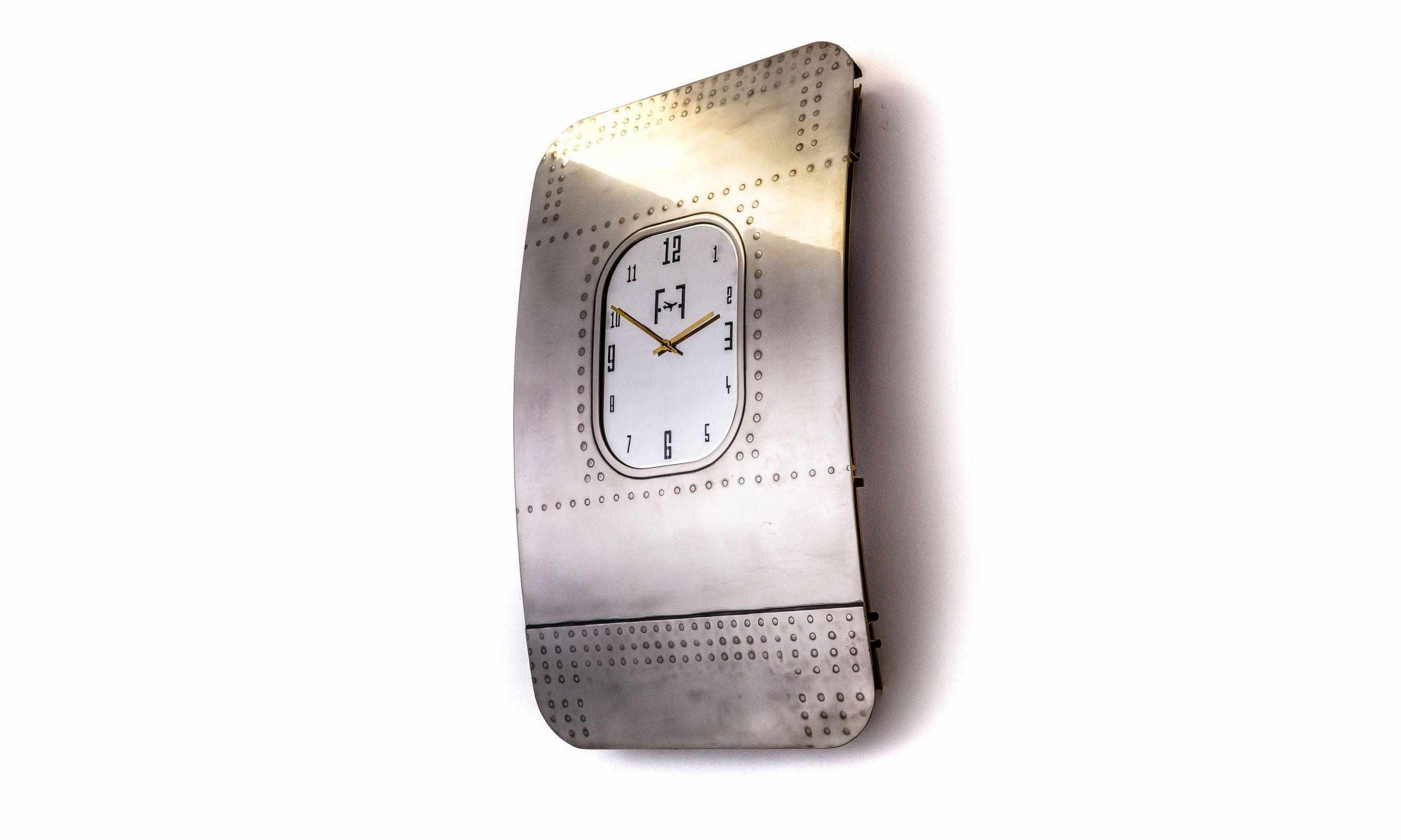 Boeing 747 Window Fuselage Clock by Plane Industries