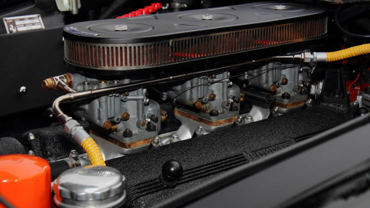 David Letterman Ferrari 275 GTS Carburetors