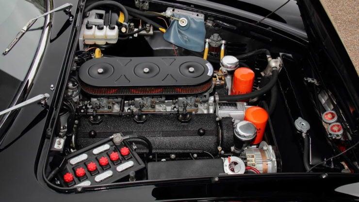 David Letterman Ferrari 275 GTS Engine