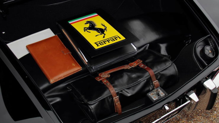 David Letterman Ferrari 275 GTS Trunk