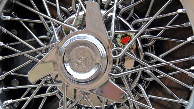 David Letterman Ferrari 275 GTS Wheels