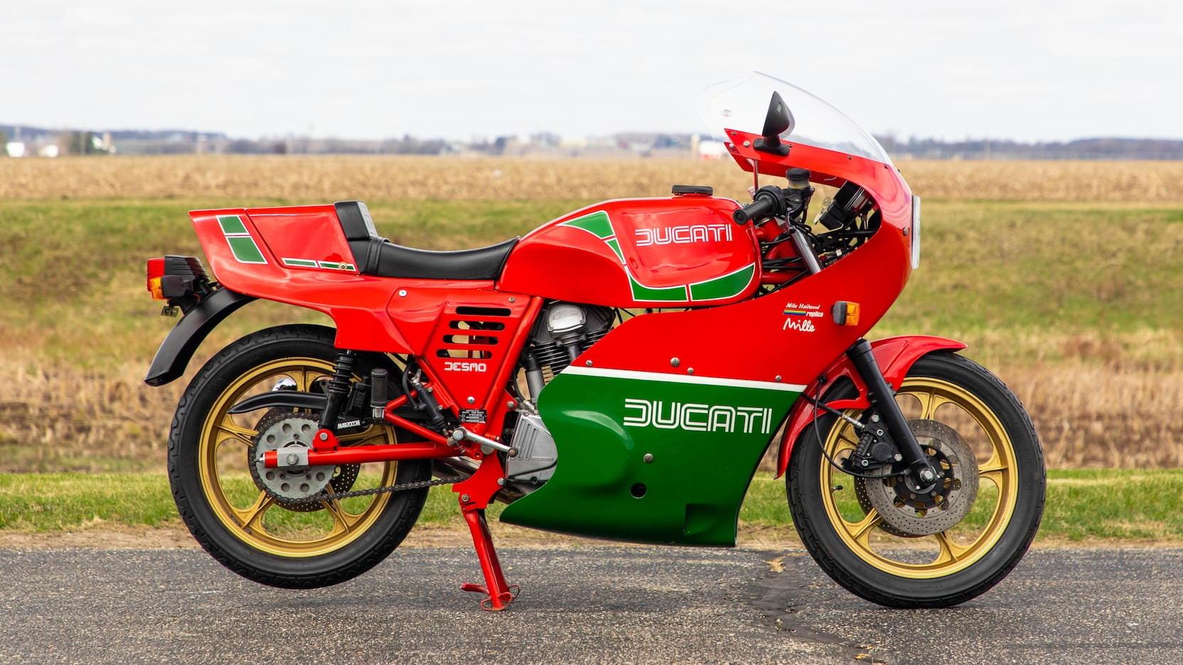 Ducati Mike Hailwood Replica - MHR Mille Side