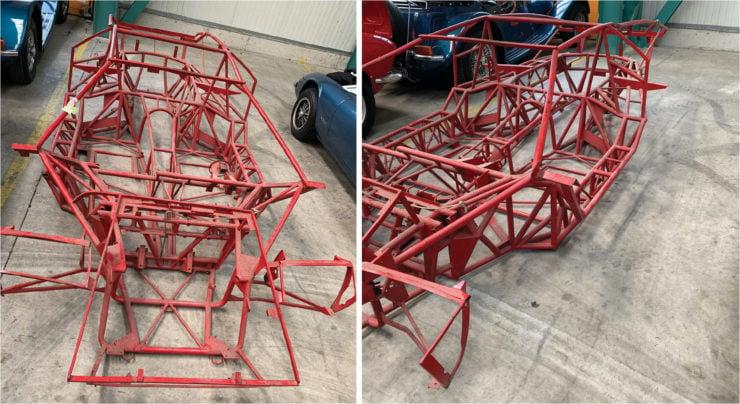Lamborghini Countach Chassis Collage 1