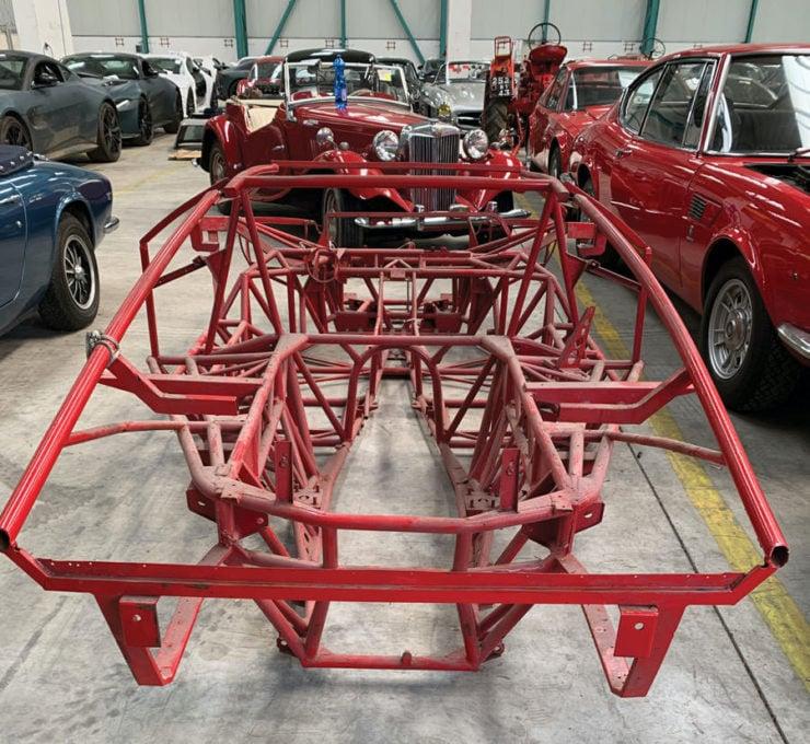 Lamborghini Countach Chassis Back