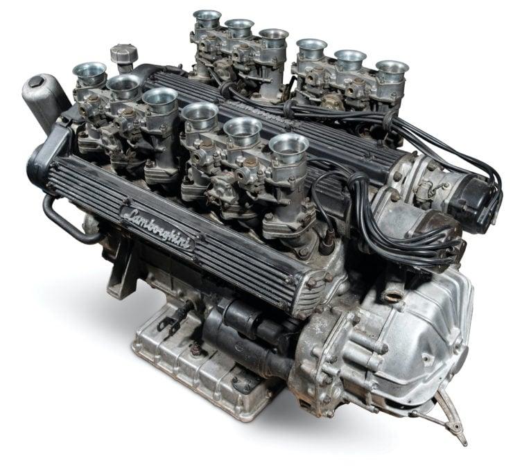 Lamborghini Miura P400 Engine 1