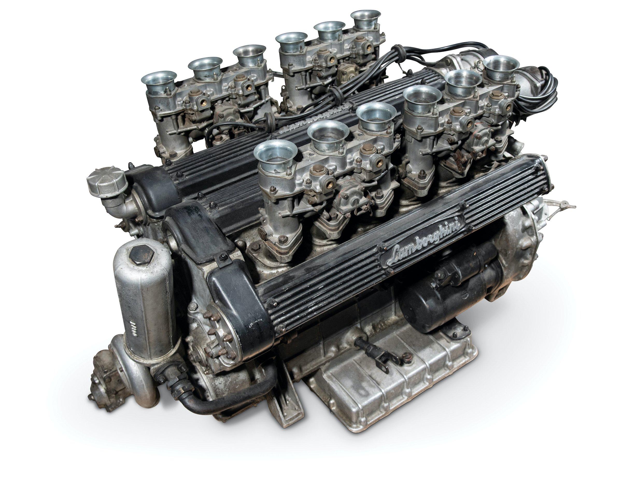 Lamborghini Miura P400 Engine
