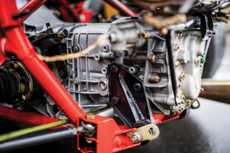 Lancia 037 Stradale Gearbox