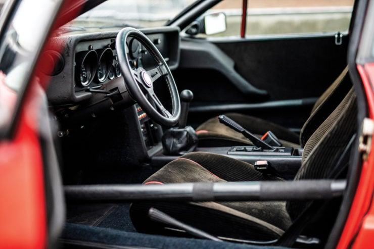 Lancia 037 Stradale Interior 2