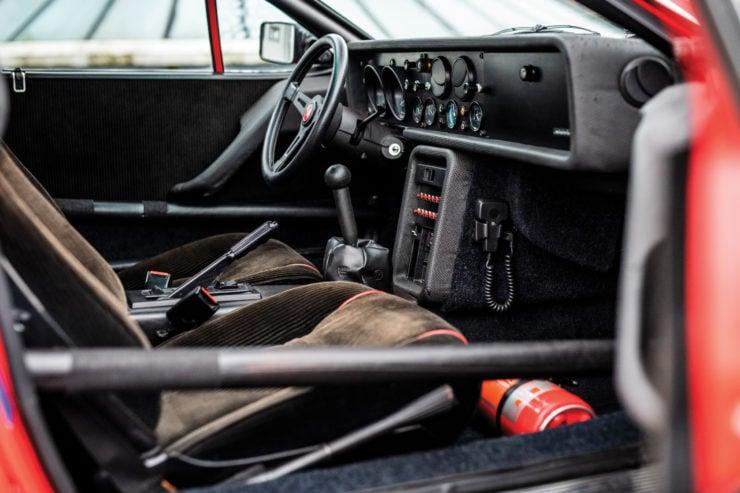 Lancia 037 Stradale Interior 3