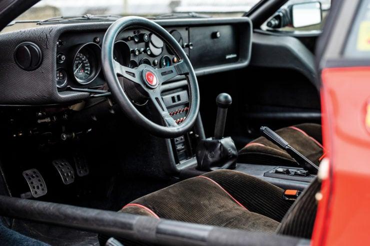 Lancia 037 Stradale Interior