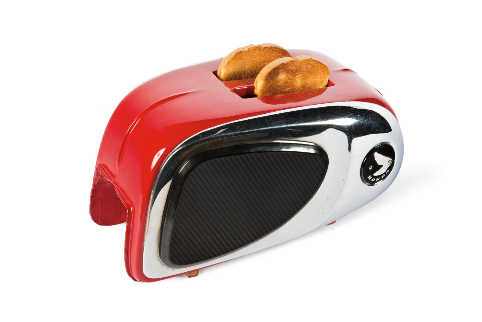 Motorcycle Gas Tank Toaster
