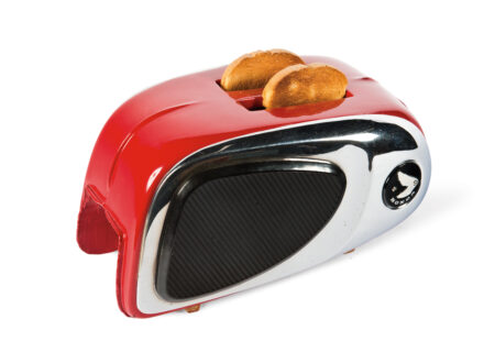 Motorcycle Gas Tank Toaster