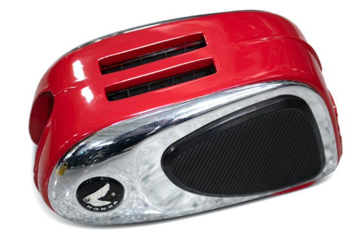 Motorcycle Gas Tank Toaster Empty
