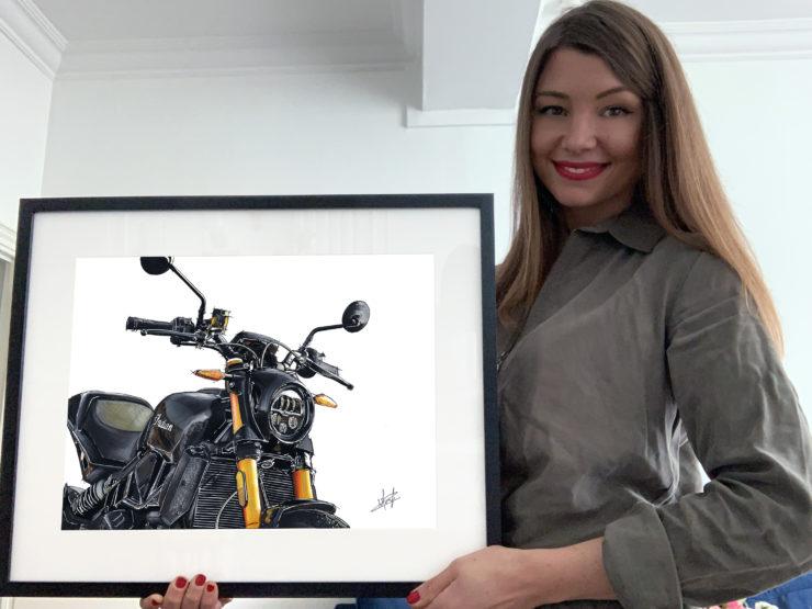 Noémie Marmorat Art Indian FTR