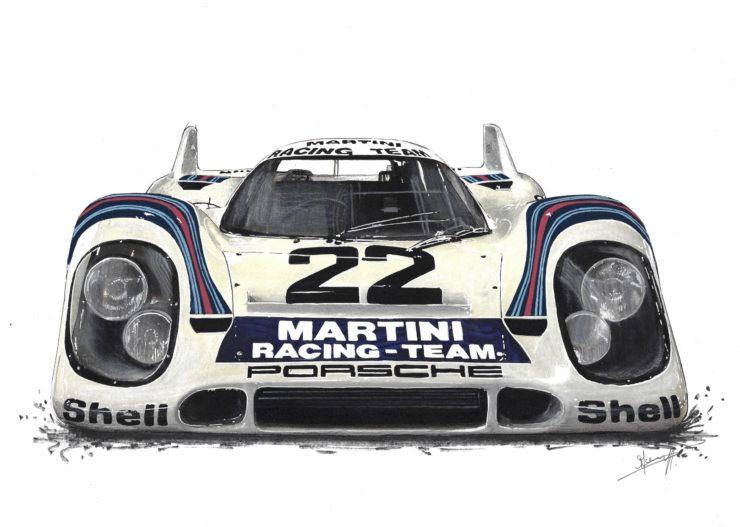 Noémie Marmorat Art Porsche 2