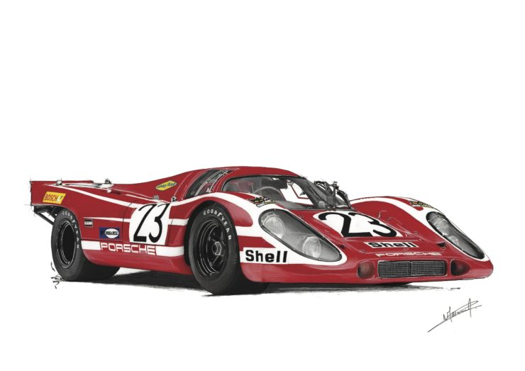 Noémie Marmorat Art Porsche 917