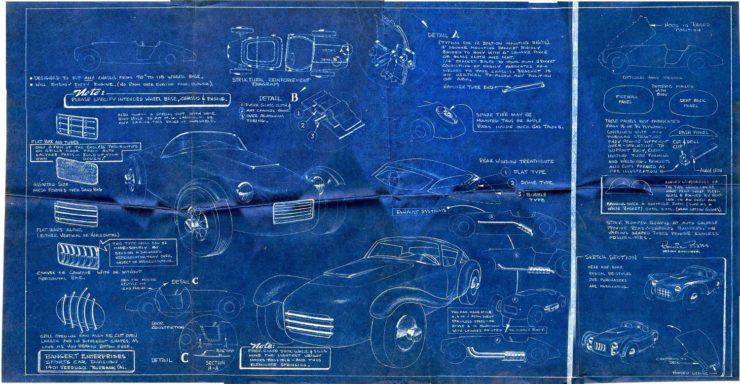 Noel Bangert Blueprint Poster