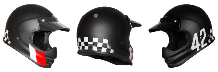 Origine Virgo Motorcycle Helmet Black