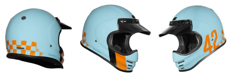 Origine Virgo Motorcycle Helmet Blue