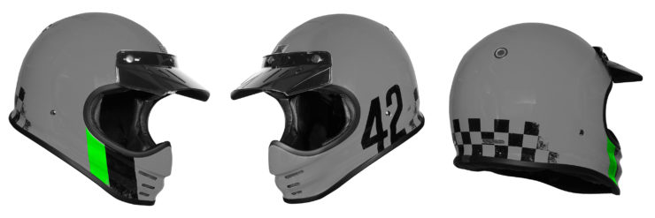 Origine Virgo Motorcycle Helmet Grey