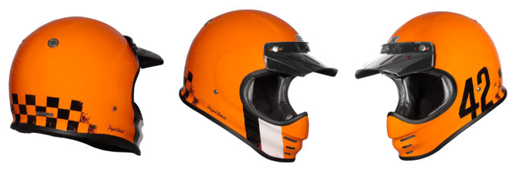 Origine Virgo Motorcycle Helmet Orange