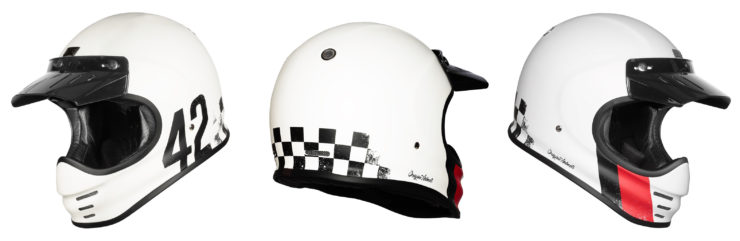 Origine Virgo Motorcycle Helmet White