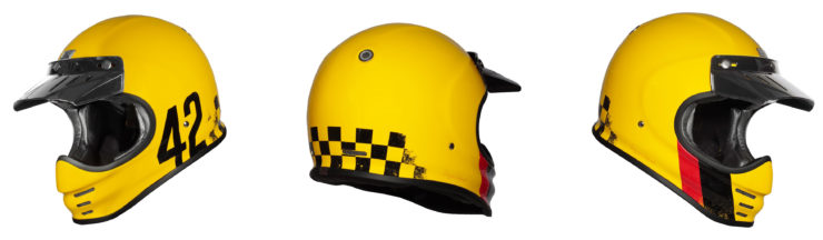 Origine Virgo Motorcycle Helmet Yellow