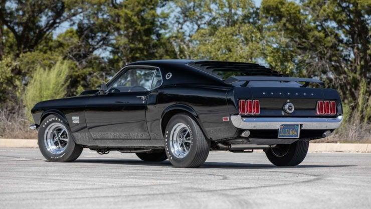 Paul Walker 1969 Ford Mustang Boss 429 Back
