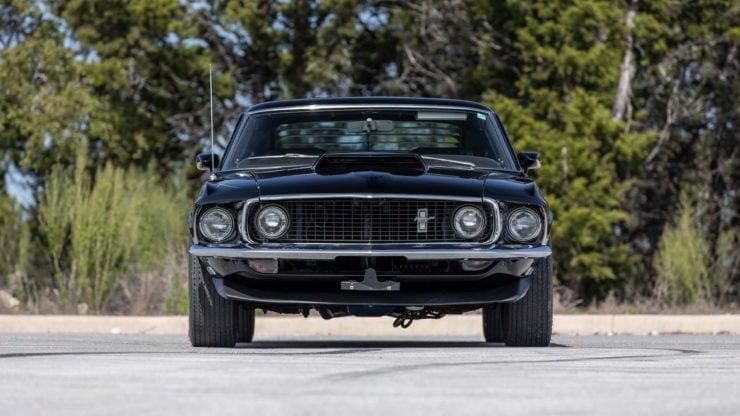 Paul Walker 1969 Ford Mustang Boss 429 Grille