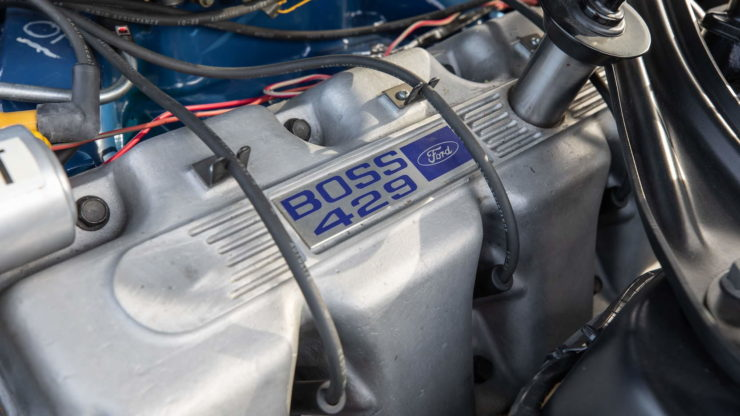 Paul Walker 1969 Ford Mustang Boss 429 Heads