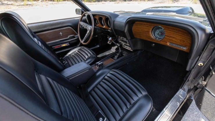 Paul Walker 1969 Ford Mustang Boss 429 Interior 2