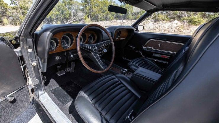 Paul Walker 1969 Ford Mustang Boss 429 Interior