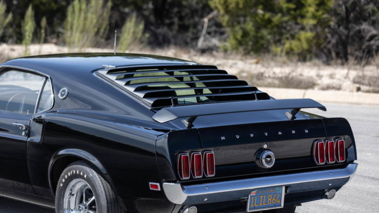 Paul Walker 1969 Ford Mustang Boss 429 Rear