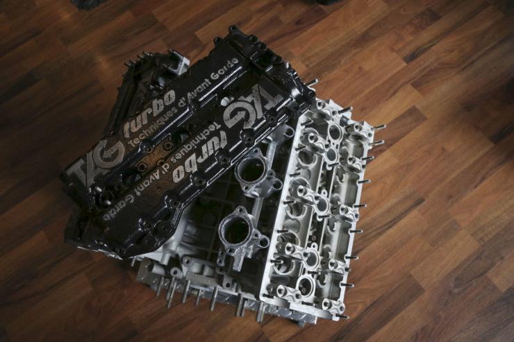 Porsche-TAG TTE P01 Formula 1 Engine 1